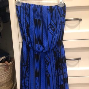 Dresses & Skirts - Royal Blue aztec Dress